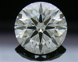 0.917 ct H VS2 A CUT ABOVE® Hearts and Arrows Super Ideal Round Cut Loose Diamond