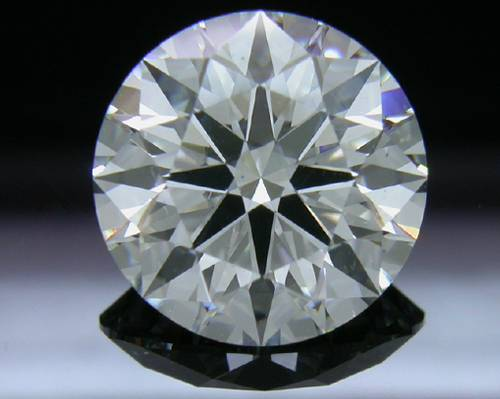 2.477 ct H SI1 A CUT ABOVE® Hearts and Arrows Super Ideal Round Cut Loose Diamond