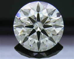 2.408 ct I VS1 A CUT ABOVE® Hearts and Arrows Super Ideal Round Cut Loose Diamond