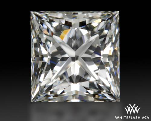 0.928 ct I VVS2 A CUT ABOVE® Princess Super Ideal Cut Diamond