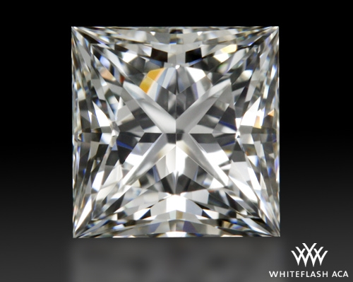 0.928 ct I VVS2 A CUT ABOVE® Princess Super Ideal Cut Diamond