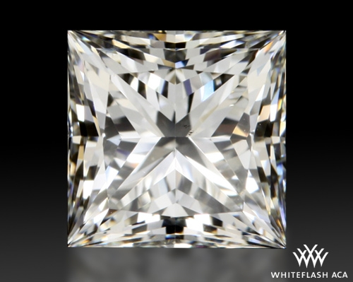 1.601 ct G SI1 A CUT ABOVE® Princess Super Ideal Cut Diamond