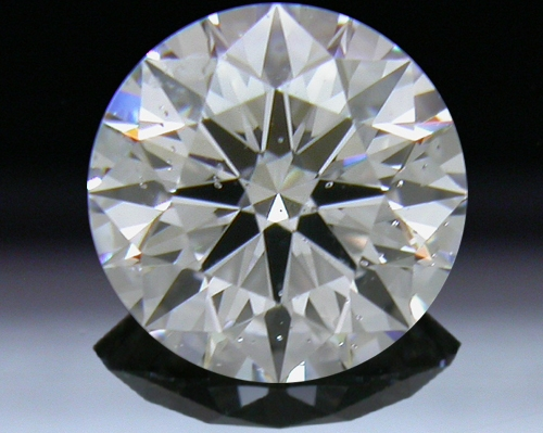 0.828 ct D SI2 A CUT ABOVE® Hearts and Arrows Super Ideal Round Cut Loose Diamond