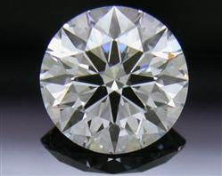 0.744 ct E SI1 A CUT ABOVE® Hearts and Arrows Super Ideal Round Cut Loose Diamond
