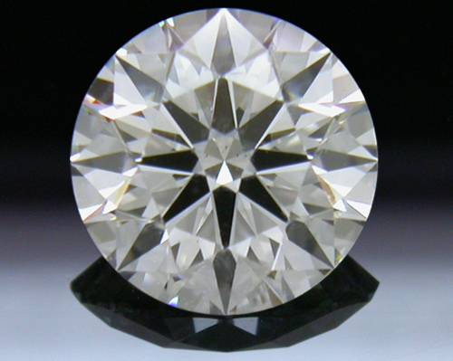 0.708 ct H SI2 A CUT ABOVE® Hearts and Arrows Super Ideal Round Cut Loose Diamond