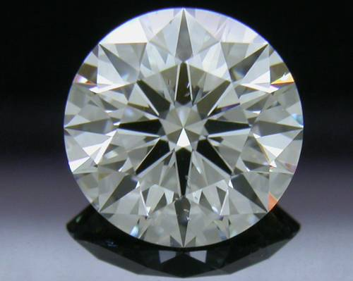 1.004 ct H SI1 A CUT ABOVE® Hearts and Arrows Super Ideal Round Cut Loose Diamond