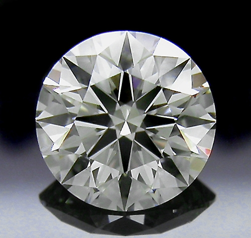 0.745 ct J SI1 A CUT ABOVE® Hearts and Arrows Super Ideal Round Cut Loose Diamond