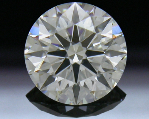 0.843 ct I SI1 A CUT ABOVE® Hearts and Arrows Super Ideal Round Cut Loose Diamond