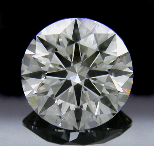 1.342 ct H VS2 A CUT ABOVE® Hearts and Arrows Super Ideal Round Cut Loose Diamond