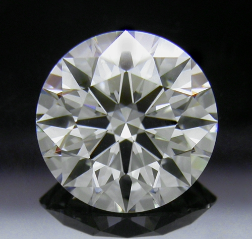 1.598 ct H VS1 A CUT ABOVE® Hearts and Arrows Super Ideal Round Cut Loose Diamond