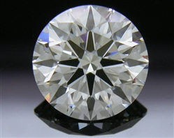 1.092 ct H VS2 A CUT ABOVE® Hearts and Arrows Super Ideal Round Cut Loose Diamond