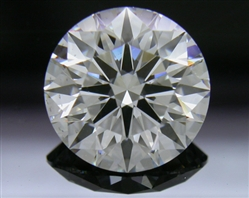 2.102 ct E VS2 A CUT ABOVE® Hearts and Arrows Super Ideal Round Cut Loose Diamond