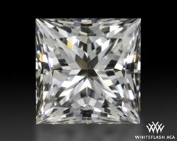 0.518 ct E VS2 A CUT ABOVE® Princess Super Ideal Cut Diamond
