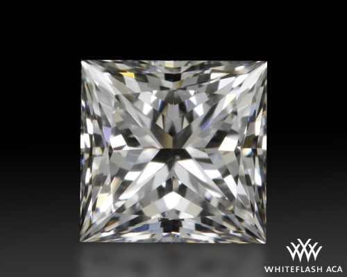 0.532 ct G VS2 A CUT ABOVE® Princess Super Ideal Cut Diamond