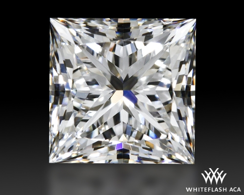 0.703 ct F VS2 A CUT ABOVE® Princess Super Ideal Cut Diamond
