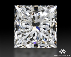 0.703 ct F VS2 A CUT ABOVE® Princess Super Ideal Cut Diamond