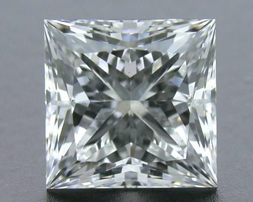 1.008 ct E VS2 A CUT ABOVE® Princess Super Ideal Cut Diamond