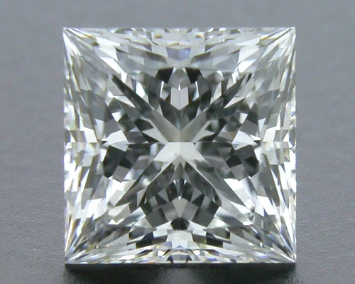 1.01 ct F SI1 A CUT ABOVE® Princess Super Ideal Cut Diamond