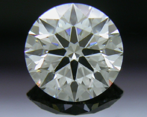 0.74 ct J SI1 A CUT ABOVE® Hearts and Arrows Super Ideal Round Cut Loose Diamond