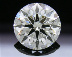 1.52 ct I SI1 A CUT ABOVE® Hearts and Arrows Super Ideal Round Cut Loose Diamond