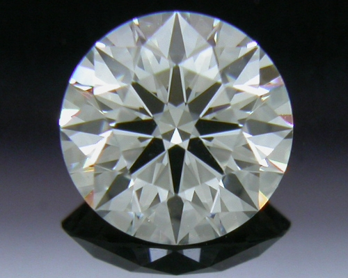 0.406 ct J VS1 A CUT ABOVE® Hearts and Arrows Super Ideal Round Cut Loose Diamond