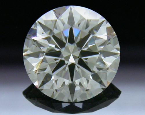 0.514 ct J SI1 A CUT ABOVE® Hearts and Arrows Super Ideal Round Cut Loose Diamond