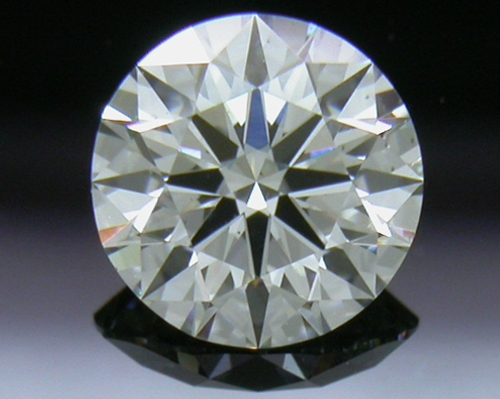 0.501 ct H SI1 A CUT ABOVE® Hearts and Arrows Super Ideal Round Cut Loose Diamond