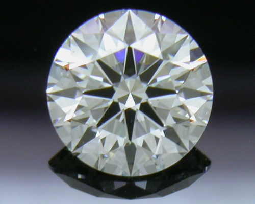 0.502 ct G SI1 A CUT ABOVE® Hearts and Arrows Super Ideal Round Cut Loose Diamond