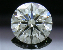 0.566 ct G VS1 A CUT ABOVE® Hearts and Arrows Super Ideal Round Cut Loose Diamond