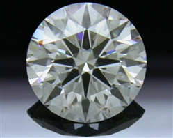0.563 ct G VS2 A CUT ABOVE® Hearts and Arrows Super Ideal Round Cut Loose Diamond