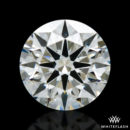0.517 ct H SI1 A CUT ABOVE® Hearts and Arrows Super Ideal Round Cut Loose Diamond