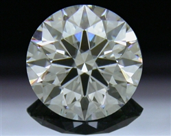 0.577 ct H SI1 A CUT ABOVE® Hearts and Arrows Super Ideal Round Cut Loose Diamond