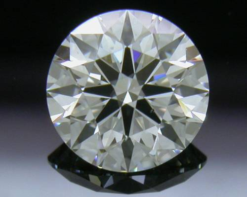 0.581 ct G SI1 A CUT ABOVE® Hearts and Arrows Super Ideal Round Cut Loose Diamond