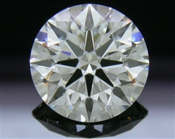 1.775 ct J SI1 A CUT ABOVE® Hearts and Arrows Super Ideal Round Cut Loose Diamond