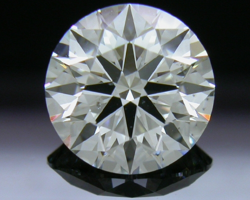 1.586 ct G SI1 A CUT ABOVE® Hearts and Arrows Super Ideal Round Cut Loose Diamond