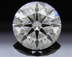 1.528 ct I SI1 A CUT ABOVE® Hearts and Arrows Super Ideal Round Cut Loose Diamond