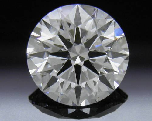 1.063 ct D SI1 A CUT ABOVE® Hearts and Arrows Super Ideal Round Cut Loose Diamond