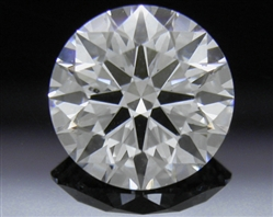 1.004 ct D SI1 A CUT ABOVE® Hearts and Arrows Super Ideal Round Cut Loose Diamond