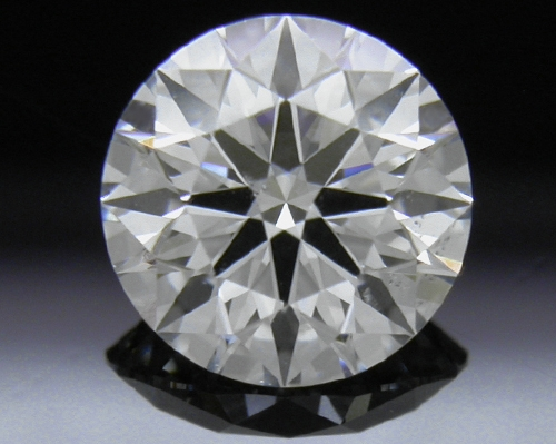 1.083 ct F SI1 A CUT ABOVE® Hearts and Arrows Super Ideal Round Cut Loose Diamond