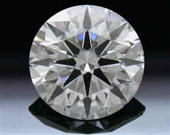 0.735 ct F VVS2 A CUT ABOVE® Hearts and Arrows Super Ideal Round Cut Loose Diamond