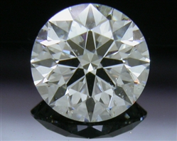 0.824 ct H SI1 A CUT ABOVE® Hearts and Arrows Super Ideal Round Cut Loose Diamond
