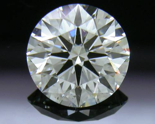 0.814 ct G SI1 A CUT ABOVE® Hearts and Arrows Super Ideal Round Cut Loose Diamond