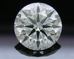 1.26 ct F SI1 A CUT ABOVE® Hearts and Arrows Super Ideal Round Cut Loose Diamond