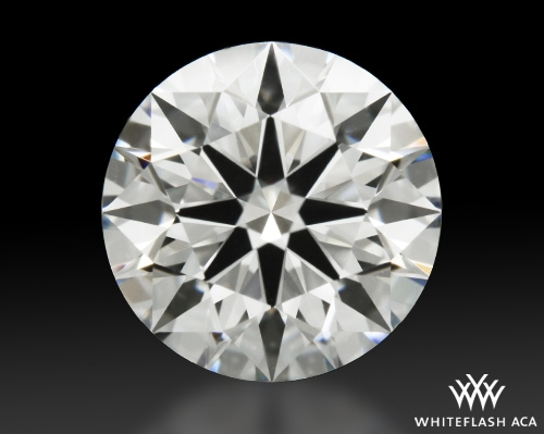 1.00 ct F VVS2 A CUT ABOVE® Hearts and Arrows Super Ideal Round Cut Loose Diamond