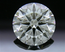 1.03 ct D SI1 A CUT ABOVE® Hearts and Arrows Super Ideal Round Cut Loose Diamond