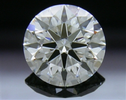 0.93 ct F VS1 A CUT ABOVE® Hearts and Arrows Super Ideal Round Cut Loose Diamond