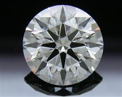 1.566 ct E SI1 A CUT ABOVE® Hearts and Arrows Super Ideal Round Cut Loose Diamond