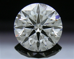1.267 ct G SI1 A CUT ABOVE® Hearts and Arrows Super Ideal Round Cut Loose Diamond