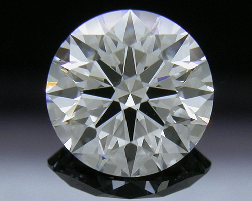 1.021 ct D VS2 A CUT ABOVE® Hearts and Arrows Super Ideal Round Cut Loose Diamond