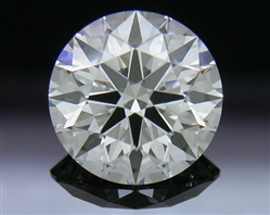 1.06 ct I SI1 A CUT ABOVE® Hearts and Arrows Super Ideal Round Cut Loose Diamond